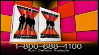 GREEN DAY tv commercial for INTERNATIONAL SUPERHITS