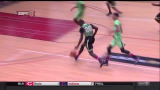 Rawle Alkins Posterizes Defender at Adidas Nations