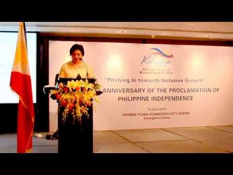 2013 Philippine Independence Day Message of Secretary Albert F. Del Rosario