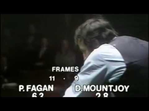 1977 UK Championships Final Patsy Fagan vs Doug Mountjoy rare snooker video