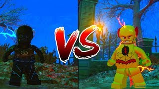 LEGO DC Villains: Zoom vs Reverse Flash Race!!
