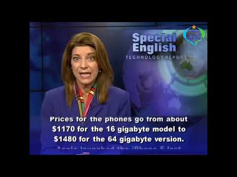 Learn English with VOA Special English - iPhone 5 Selling Well in Gaza