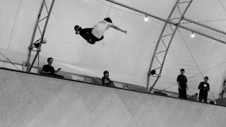 Ronnie Sandoval Padless Vert Skating!! - Behind the Scenes - Omar Salazar Clips