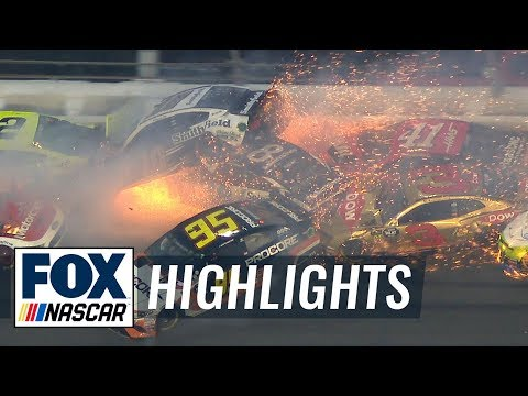 Ritch Cassidy - See the EPIC 21 car Daytona 500 Crash with 11 Laps to Go.