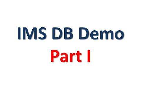 IMS DB Demo Part 1