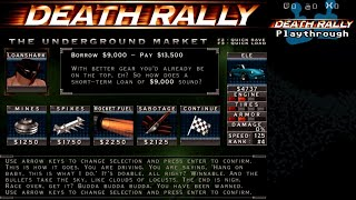 Скачать Death Rally Playthrough 1996 DOS Part 5