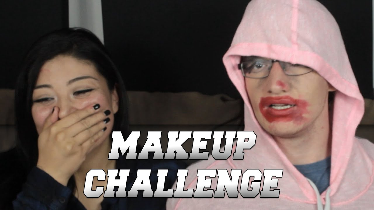 Girlfriend Does My Makeup Challenge Youtube