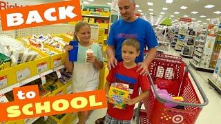 США Покупки к школе Покупаем канцелярию рюкзаки и обувь к школе Бэк ту скул 2021 в Америке