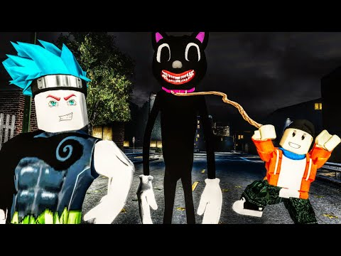 We Played Some Of The Weirdest Cartoon Cat Games in Roblox Multiplayer Gameplay!