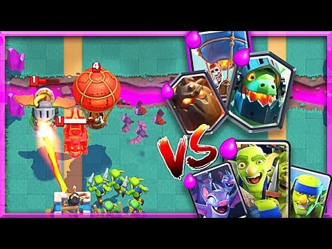 PUSHING!! LavaLoon vs Spear Goblins and Bats!? • Clash Royale
