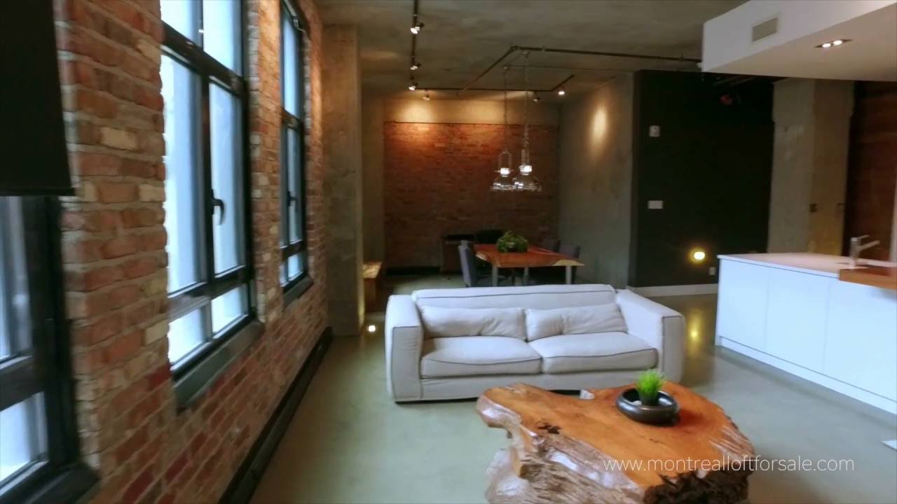 Montreal Loft For Sale Downtown In Historical Southam