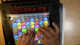 Day off live performance x Ableton Push