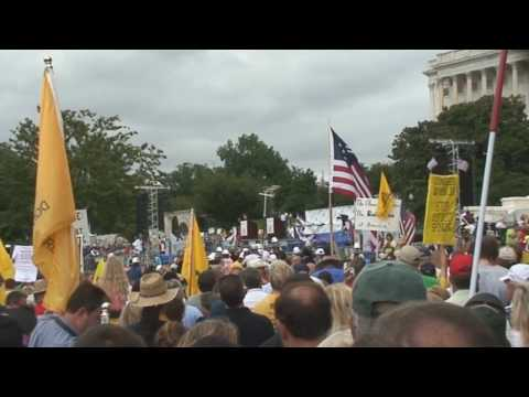 Tea Party March on Washington - Rally on Capitol Hill