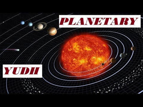 PLANETARY YUDH  - Basic Of  Vedic Astrology PART-3