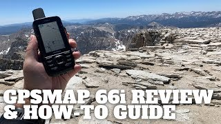 In-Depth Garmin GPSMAP 66i Review & How-To Guide - HikingGuy.com