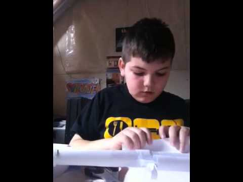 How to make paper scar h part 1