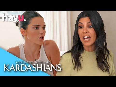 Kendall Feels Kourtney Bullied Her On Ski Trip | Season 16 | Keeping Up With The Kardashians