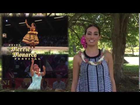 KAHULA2016 message from Miss Aloha Hula 2016 - Kayli Kaʻiulani Carr