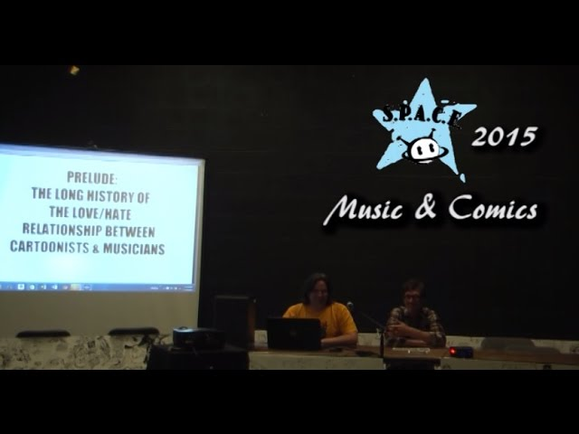 SPACE 2015 – Music and Comics Panel