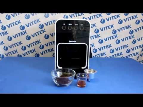 Рецепт приготовления эспрессо с карамельным сиропом в кофеварке VITEK VT-1504 BW