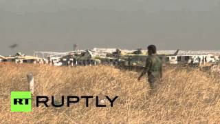 Syria: Army secure area surrounding former IS stronghold Kweires airbase