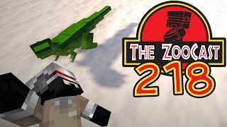 Minecraft Jurassic World (Jurassic Park) ZooCast - #218 Searching For A Surrogate!