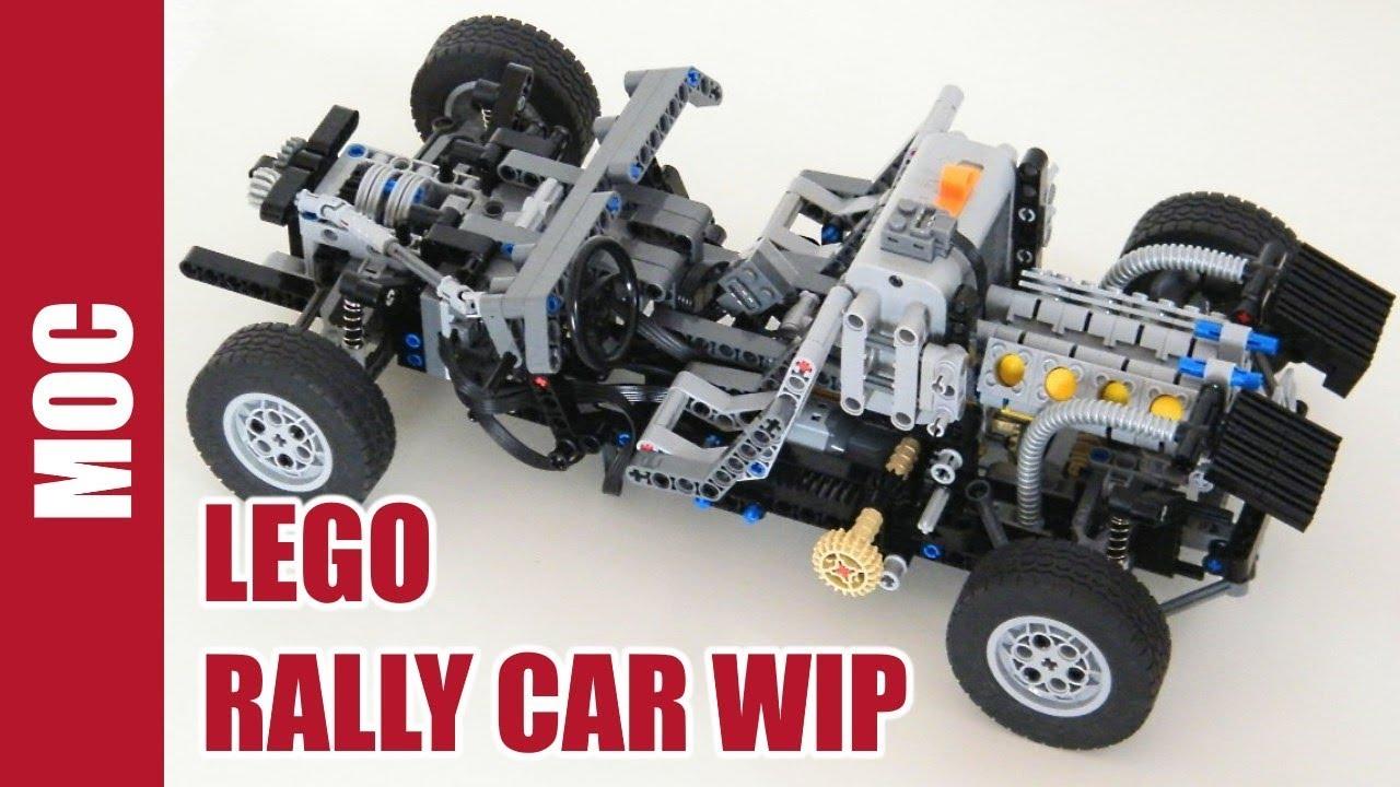 Lego Technic Rally Car Part 1 Frame Youtube