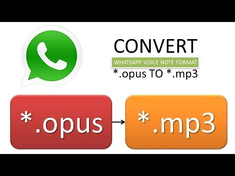 convert .opus to mp3