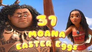 31 MOANA EASTER Eggs And References