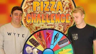 HJULET BESTEMMER VORES PIZZA! | Pizza Challenge
