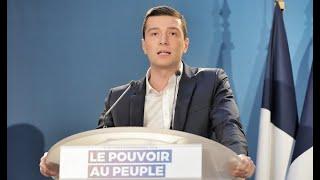 Discours de Jordan Bardella  - réunion publique à Saint-Ébremond-de-Bonfossé (50)