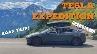 Tesla Model 3 Adveฑture Camping Across North Dakota And Montana