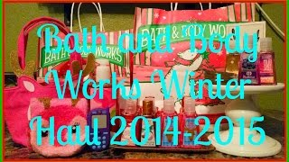 Bath and Body Works Winter Haul 2014 Thumbnail