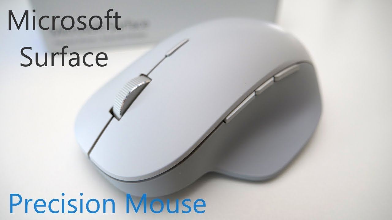 d1213336f9c Microsoft Surface Precision Mouse - Full Review - YouTube
