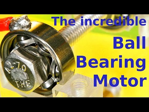 The ball bearing is the motor youtube for Red wing ball bearing ac motor