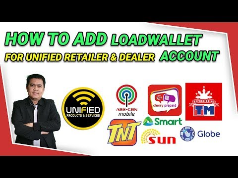 Видео: How to Add Loadwallet sa Unified Retailer or Dealer Account