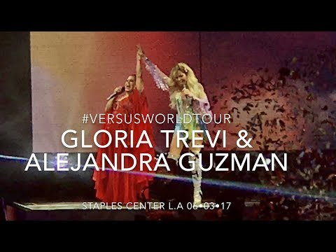 GLORIA TREVI VERSUS ALEJANDRA GUZMAN STAPLES CENTER CONCIERTO - LOS ANGELES