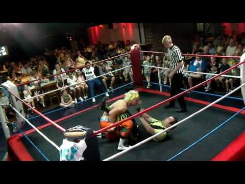 Phoenix Wrestling Promotions - Dow Jones vs Chuck Mambo