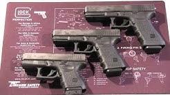 Glock G37, G38, & G39: .45 GAP Pistols