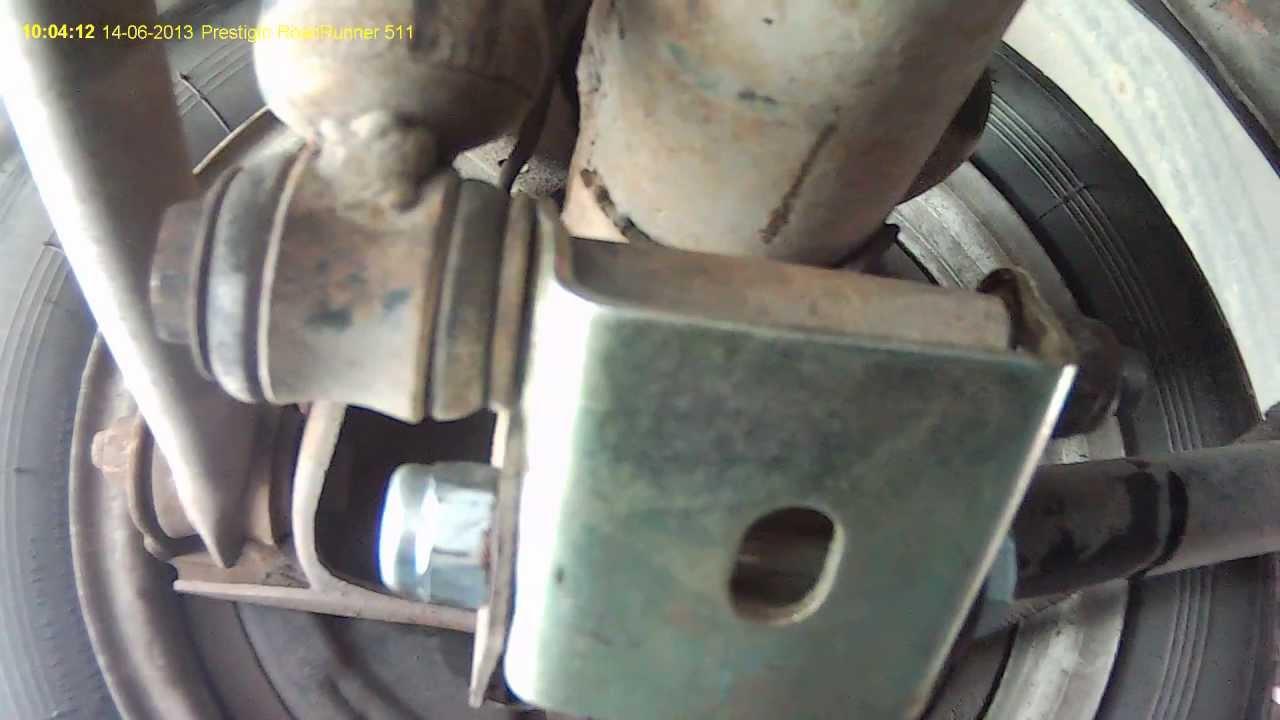 Нива 21214 ремонт Замена реактивных тяг - YouTube
