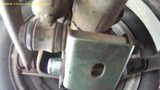 неправильная установка кронштейнов нижнего крепления задних амортизаторов Ваз-2101-07.часть 1.