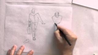 Рисуем фигуру человека в движении. Фильм 4.(, 2015-02-09T09:23:06.000Z)