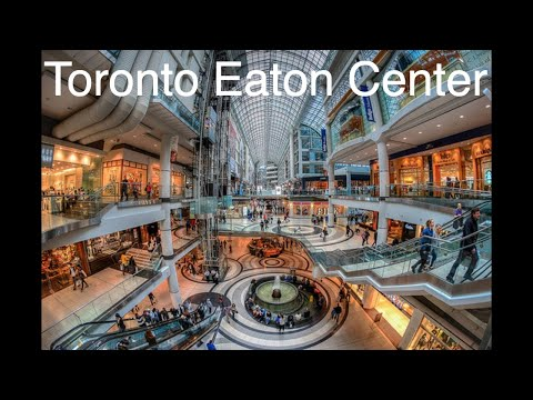 Tour Toronto Eaton Centre - Canada Shopping Mall - Shopping center em Toronto Canada