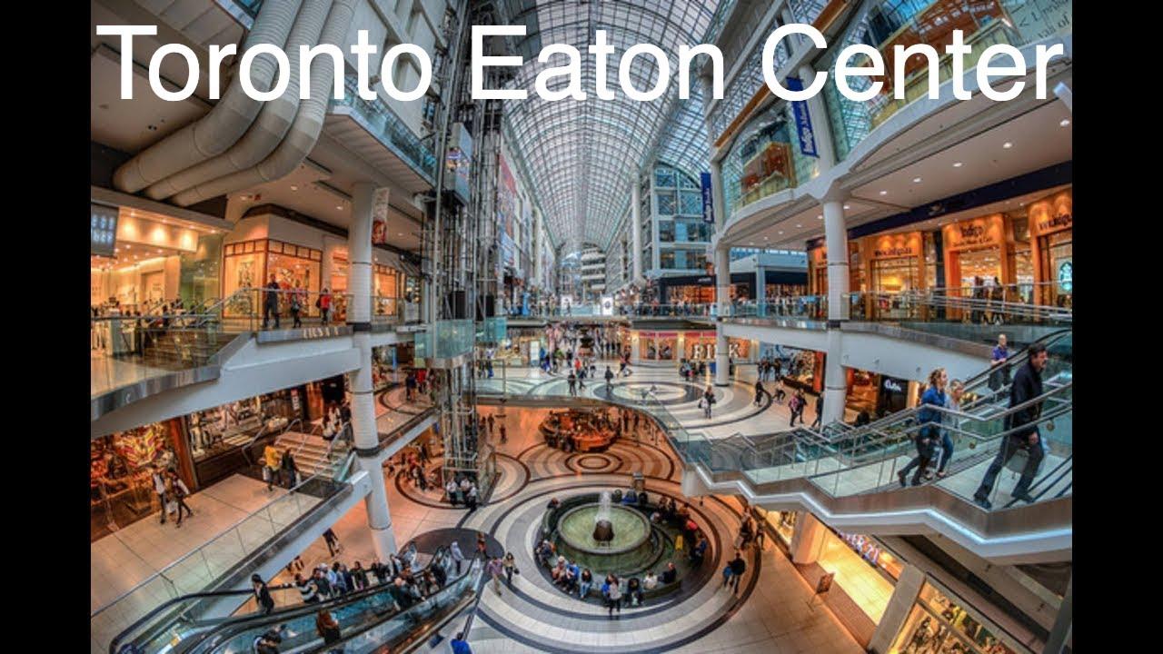 b10c1e81c87 Tour Toronto Eaton Centre - Canada Shopping Mall - Shopping center em  Toronto Canada