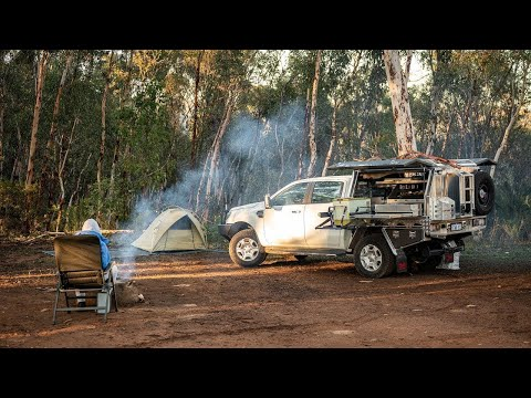 A photographers Ford Ranger camping setup with Andrew Marr Photography