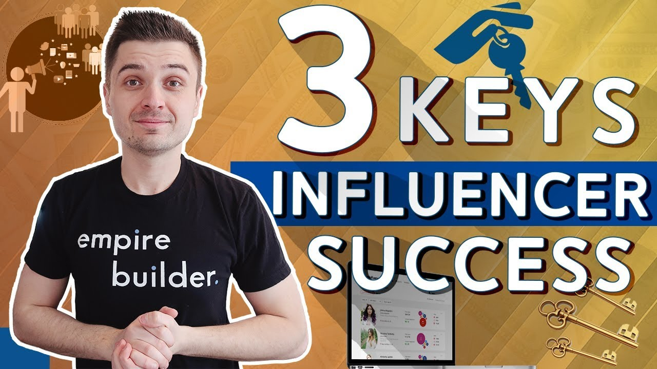 3 Secrets To Influencer Success Explained | ClickFunnels Shopify Dropshipping
