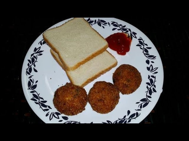 Bread Cutlet Recipe | How to Make Bread cutlet With Eng Subtitles | PDTV Foods
