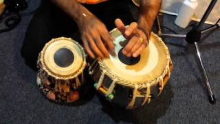 Tabla Lesson - #14 Rupak 7 Beats