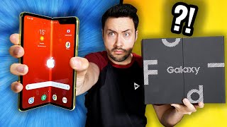 Mon 1er Smartphone Pliable qui tourne mal ?! (Galaxy Fold)