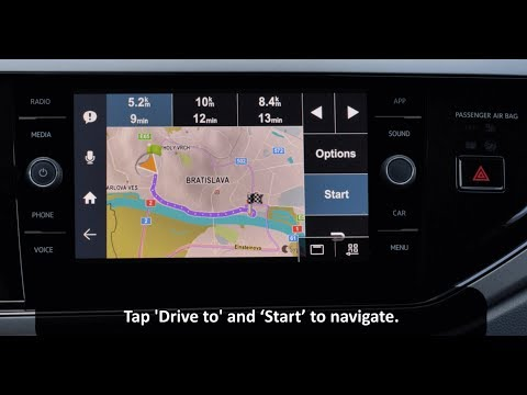 How To Use Sygic Car Navigation Advanced Navigation Features With MirrorLink Infotainment System